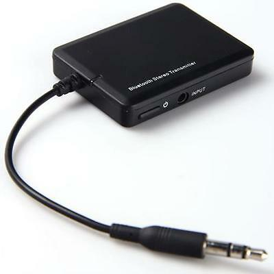3.5mm Bluetooth A2DP Stereo Audio Adapter Dongle Transmitter 4 TV PC MP3 Walkman
