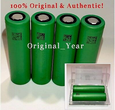 4 Sony VTC4 18650 30A 3.6V High Drain Rechargeable Battery Free Case