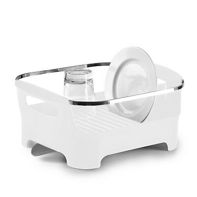 Umbra Basin Dish Rack - White