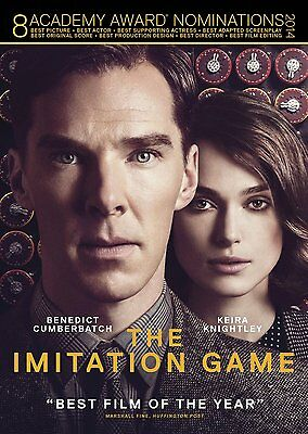 The Imitation Game (DVD, 2015) Brand New * Factory Sealed