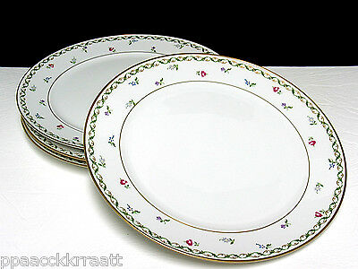 BLOCK LANGENTHAL CHATEAU D'ORLEANS 4 DINNER PLATES RAYMOND LOEWY WILLIAM SNAITH