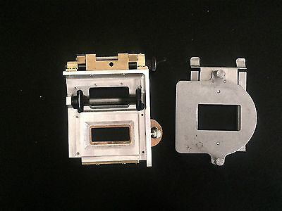 Century JJ 70mm Cine Projector Trap & Gate Assembly. New! 70mm is alive and well