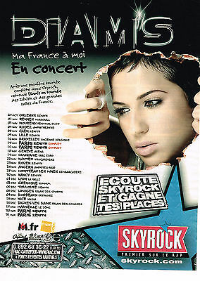 Breweriana, Beer Collectibles Publicite Advertising 054 2007 Skyrock Radio Akon En Concert à Nice