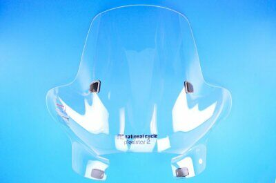 """National Cycle 20"""" Clear Plexistar 2 Windshield w/Quickset Mount  N8332-01"""