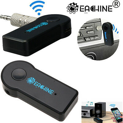 EACHINE Wireless Bluetooth Receiver 3.5mm AUX Audio Stereo Home Car Adapter+Mic