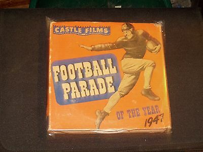 VINTAGE 16 MM CASTLE FILMS FOOTBALL PARADE 1947 FOR YOUR COLLECTION !!