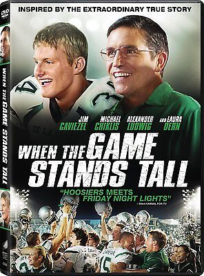 When the Game Stands Tall DVD Clancy Brown, Alexander Ludwig