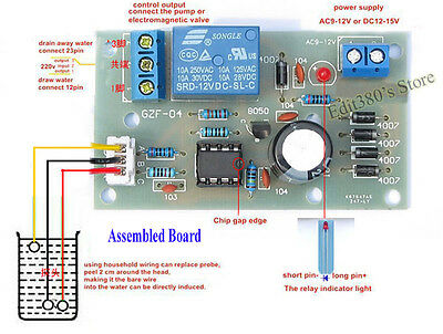 Liquid Level Controller Sensor Module For Water Tower Level Detection Irrigation
