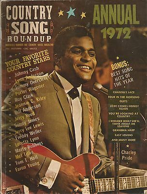 Country Song Roundup , Annual 1972 , Charley Pride