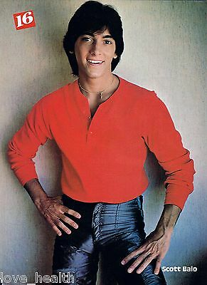 "SCOTT BAIO - BULGE TIGHT JEANS - TEEN BOY ACTOR 11""x8"" MAGAZINE POSTER PINUP"