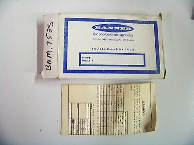 Banner #BAM.752S Glass Fiber Cable Assembly New 1/1/1