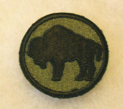 Wwii Negro 92Nd Inf Div Of The Italian Theater The Black Buffalo Soldiers Patch