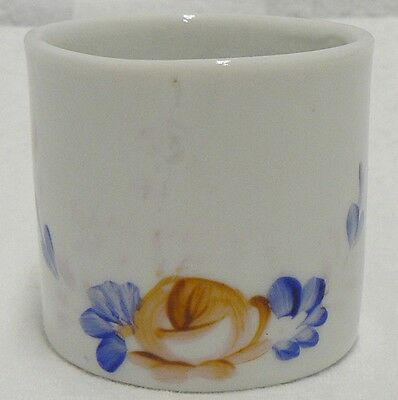 Small Porcelain Child's Cup Mug With Flower Design