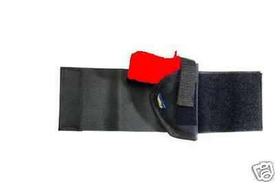 Ankle Holster For Ruger LCP380 Black Nylon Right Hand Concealment by Pro-Tech