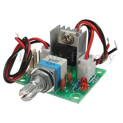 LM317 Linear Full-stage Voltage Regulator Board Fan Speed Control With Switch