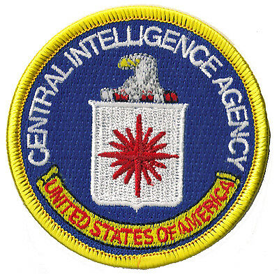 Patch Ecusson thermocollant patche CIA Central Intelligence Agency badge