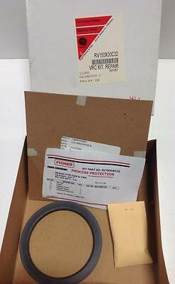 "Fisher 4"" Ball Seal Vrc Repair Kit Rev-D-11/06 Rv150X00C32 Nib"