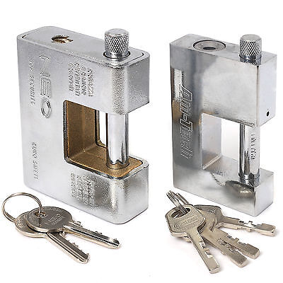 HEAVY DUTY / ARMOURED SHUTTER PADLOCKS~HIGHEST QUALITY~Small/Large Security Lock