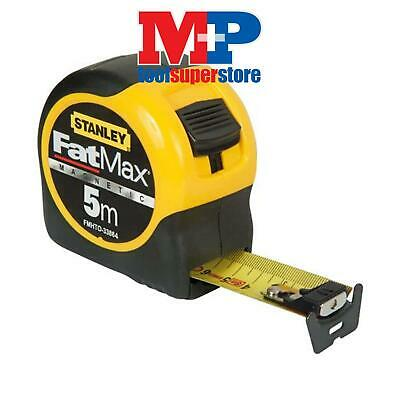 Stanley Tools 033864 FatMax Magnetic Tape Measure 5m 5 Metre (Metric)