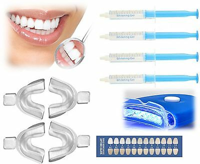 New Dental Teeth Whitening Home Kit White Teeth Carbamide Peroxide Bleach Light