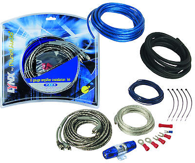 PAK8 Planet Audio 8-Gauge Amplifier Installation Kit Up to 1200 watts