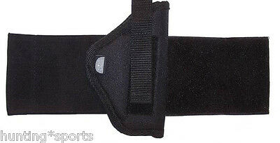 Ankle Holster For Bersa Thunder 380 with laser right hand draw color black