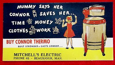 Connor Thermo Washer Ink blotter Style #3 Mitchell Electric Beausejour ppu