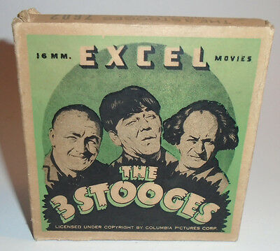 Vintage 16mm Excel The Three Stooges Join the Army #7602 Film in Box