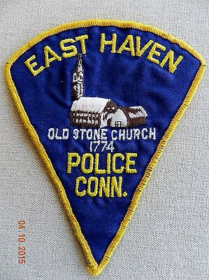 Vintage Old Style East Haven (CT) Police Patch (Acquired 10/04/82)