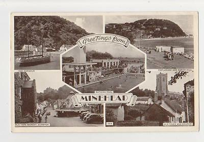 Minehead,U.K.5 Views,Somerset,Used,Minehead,1956
