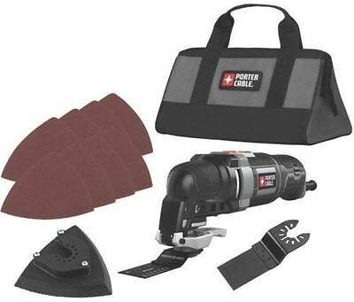 New Porter Cable Pce606K Electric 3.0 Amp Oscillating Multi Tool Kit 8218323