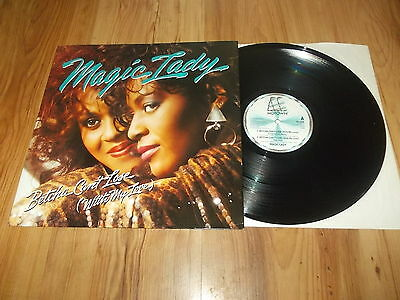 "Magic lady-Betcha can't lose-1988 12"" single"