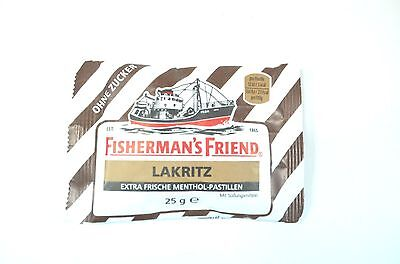 Fisherman`s Friend Lakritz Pastillen o.Zucker 5x25g.