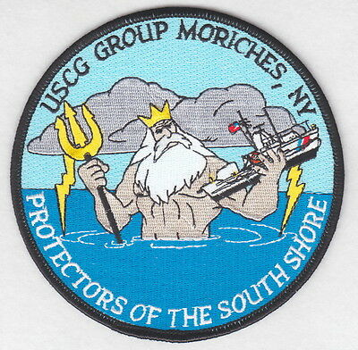 USCG patch:  Coast Guard Group Moriches, NY