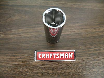 "New Craftsman 3/8"" Drive Dr - 6 Point Pt - Metric mm - DEEP Socket - Your Choice"