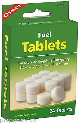 24 Hexamine Esbit Fuel Tablets For Emergency Stoves, Fire Keep, Warm, Cook #2