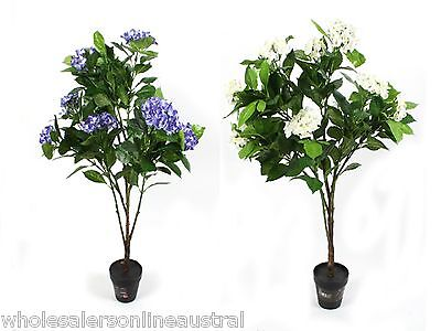 Hydrangea 100cm 2 asst Artificial Everlasting Potted