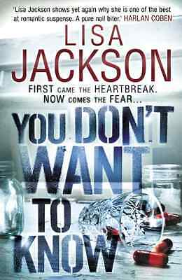 You Don't Want to Know - Hardcover NEW Jackson, Lisa 2012-08-16