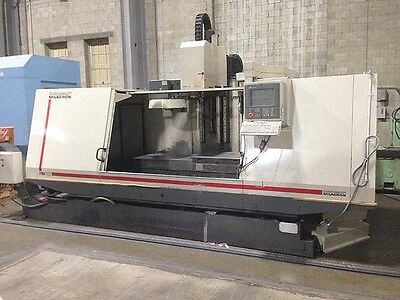 "Cincinnati 80"" x 30"" Sabre 2000 CNC Vertical Machining Center"