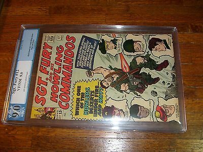 Sgt. Fury #12 (1964), Pgx Graded Vf/nm 9.0