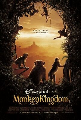 Monkey Kingdom - original DS movie poster - 27x40 D/S