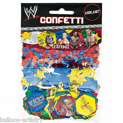 WWE WRESTLING Superstars Children's Party Confetti Table Sprinkles Triple Pack
