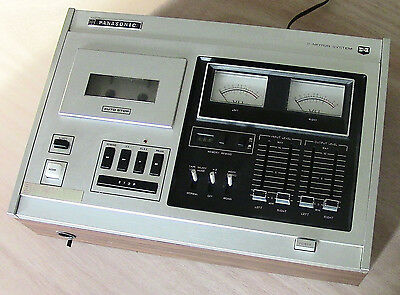 Used To Be Great Vintage Panasonic RS-275US 2-Motor Tape Deck/Recorder