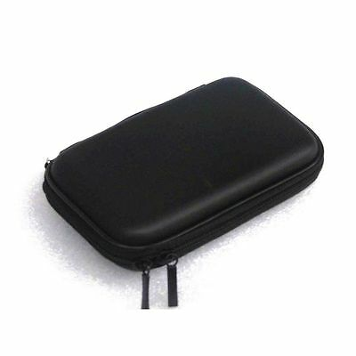 2.5inch HDD Hard Disk Drive Shockproof Zipper Bag Pouch Cover Case Black GFY