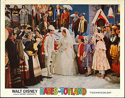 BABES IN TOYLAND orig1961 DISNEY lobby card poster ANNETTE FUNICELLO/TOMMY SANDS