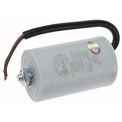 Universal 30UF MFD Start Run Motor Capacitor & Connector Lead 400v 450v 500v