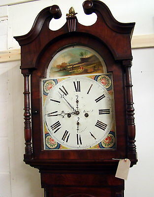 Scales of Kendal: Rare Painted Dial 8 Day Longcase Clock in working order.