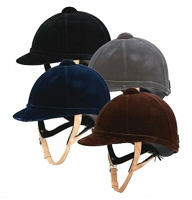 Charles Owen Wellington Classic Riding Hat PAS015 Safety in BLACK or NAVY
