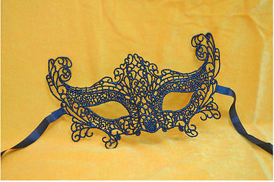 Lady Lace Hollow Flower Eye Face Mask Masquerade Ball PROM HALLOWEEN COSTUME