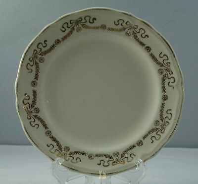 Edwin Knowles Gold Ribbon Bread and Butter Plate